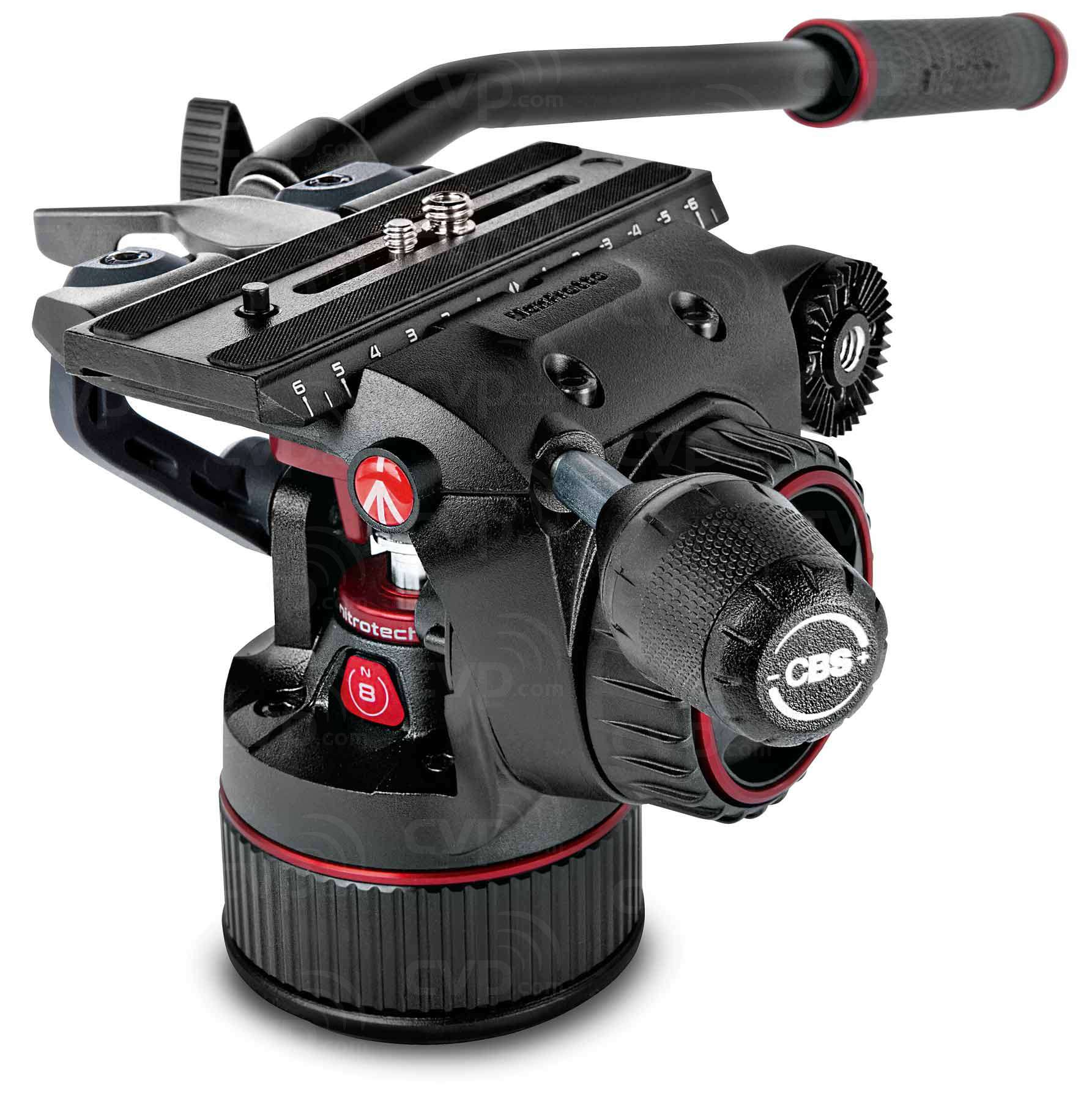 Manfrotto MVKN8TWING (MVKN8TWING) Nitrotech N8 and 546GB Twin Legs Tripod