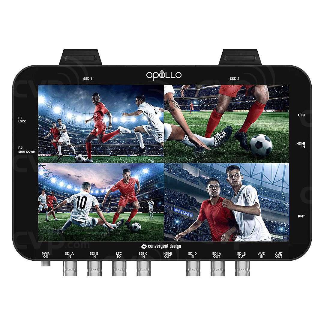 Convergent Design CD-APOLLO (CDAPOLLO) Apollo Portable Multicamera Live Switcher/Recorder