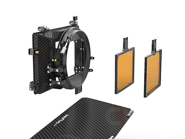 Bright Tangerine VIV Kit 2: 4x5.65 inch 3-Stage Mate Box includes Top Flag, Flag Mounts & Three 4x5.65 inch Horizontal Trays (p/n B1210.0011)