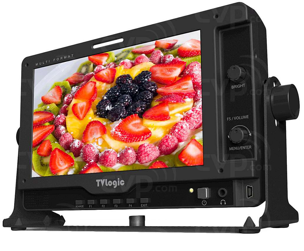 TV Logic LVM-070C (LVM070C) 7 Inch Multi-Format LCD Field Monitor