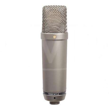 Rode NT1-A (NT1 A) Studio Condenser Microphone with shock-mount, pop