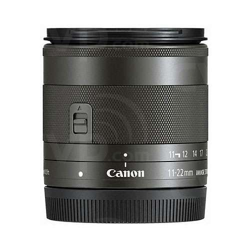 Canon EF-M 11-22mm f/4-5.6 IS STM wide-angle zoom lens for