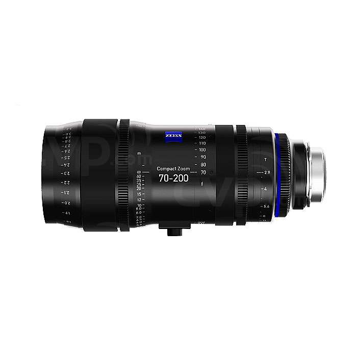 Zeiss (1984-031) 70-200mm T/2.9 CZ.2 Compact Zoom Lens (PL Fit / Imperial Scale)