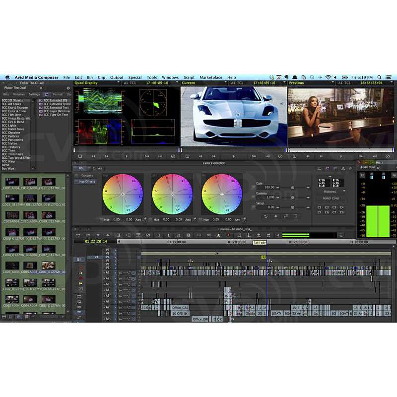 Avid Artist DNxIO Professional Video I/O interface and Media Composer
