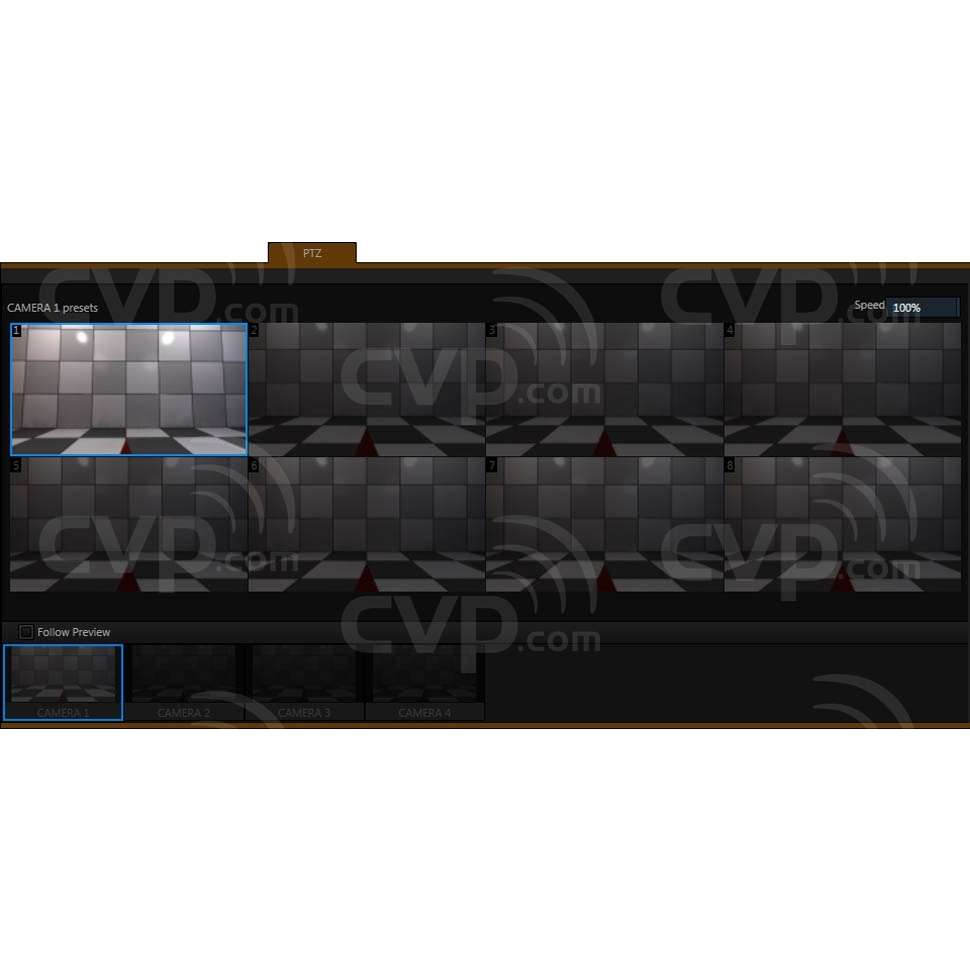 Pan-Tilt-Zoom Camera Control