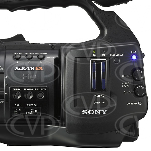 Sony PMW-EX1R - LHS panel CU