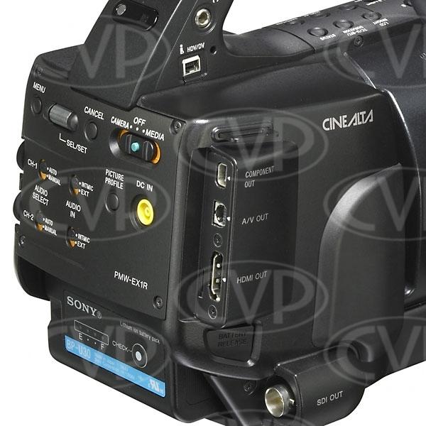 Sony PMW-EX1R - Rear i/o panel CU