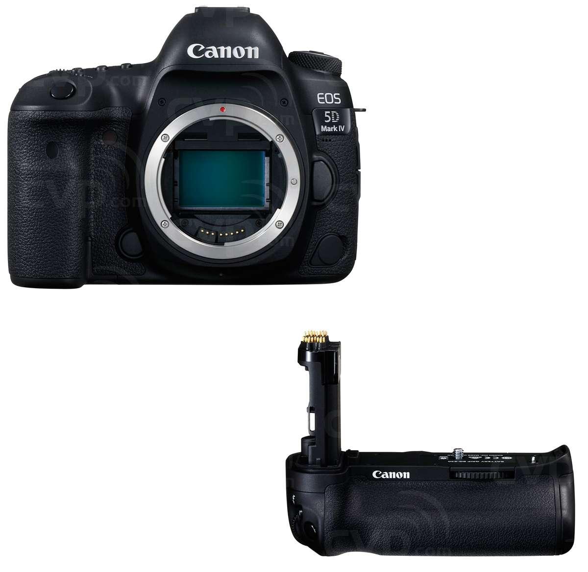 Canon 5D Mark IV & Grip Bundle