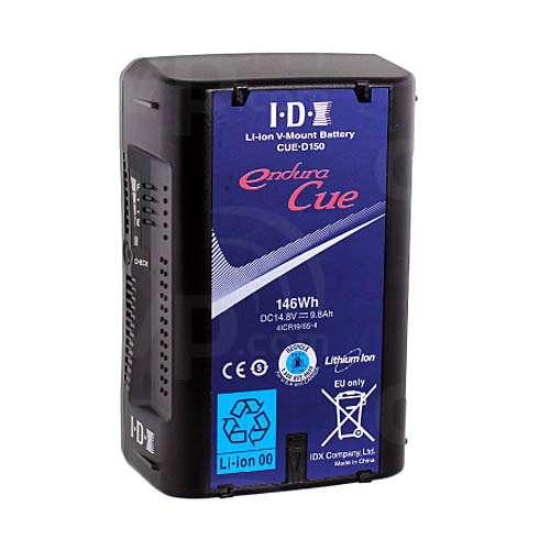IDX Endura CUE-D150 (CUE-D150) 146Wh Lithium-ion V-Mount Battery with D-Tap