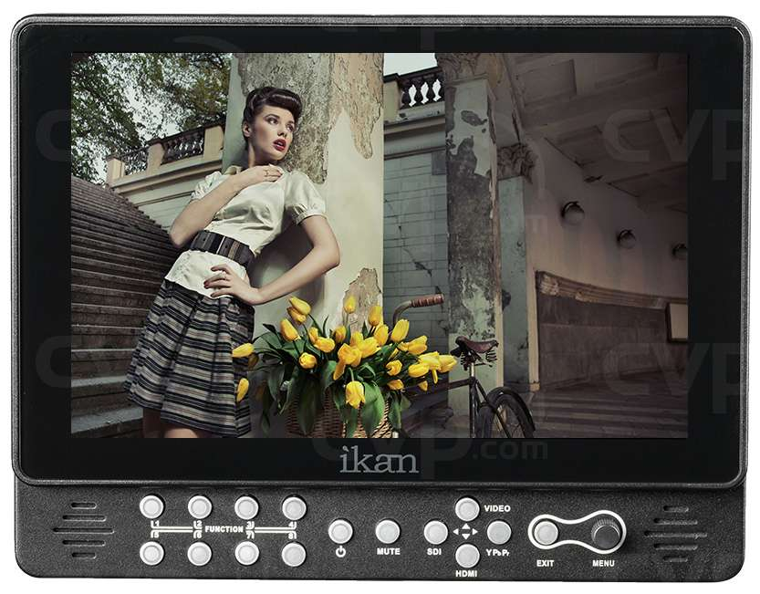 Ikan VX9w-S (VX9wS) 9 Inch HDMI/3G-SDI On-Camera Field Monitor