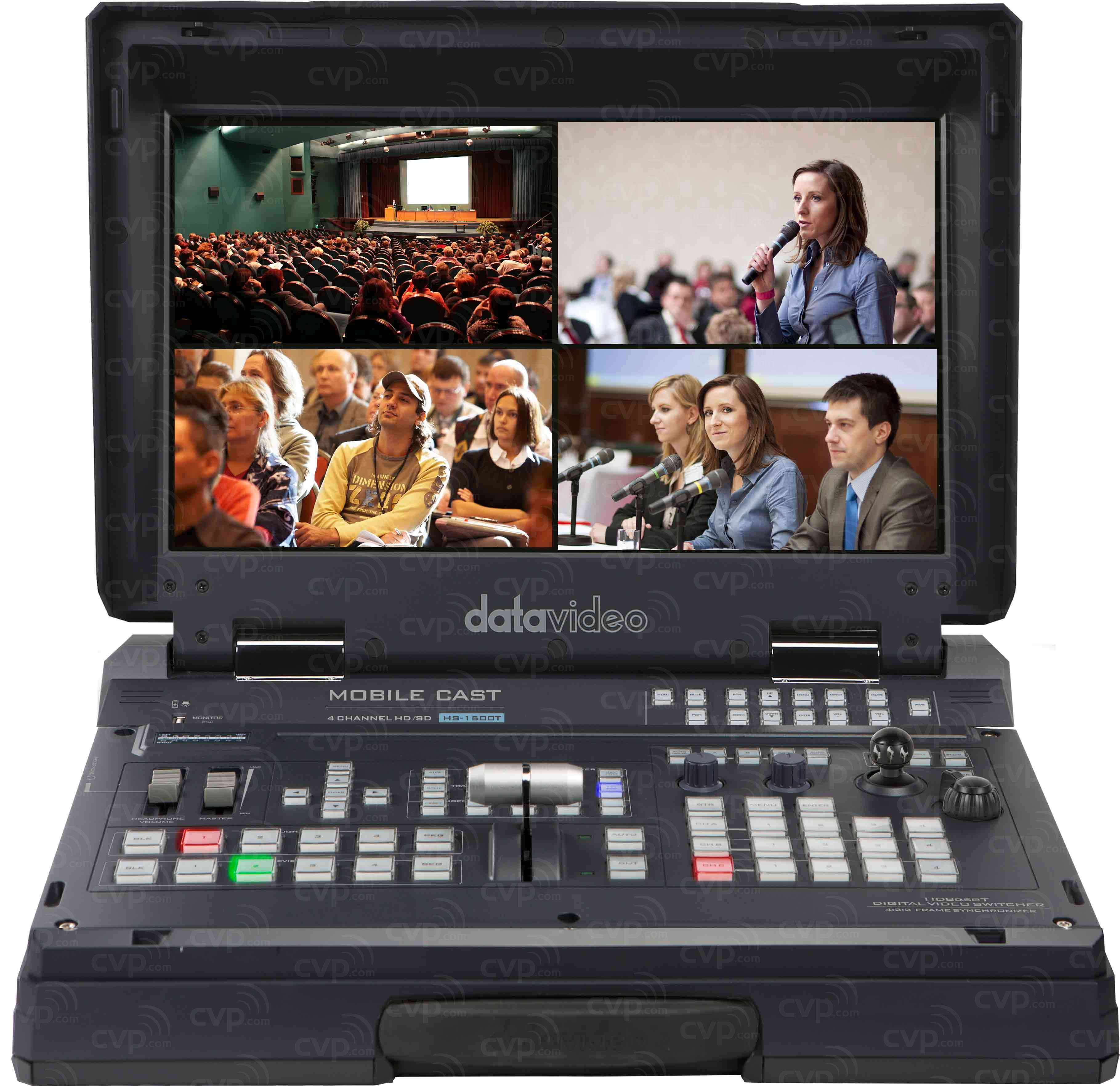 Datavideo DATA-HS1500T (DATAHS1500T) HS-1500T HDBaseT Portable Video Studio with PTZ Control