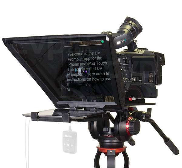 Datavideo DATA-TP650 (TP-650) Prompter Kit for ENG Cameras (iPad, remote