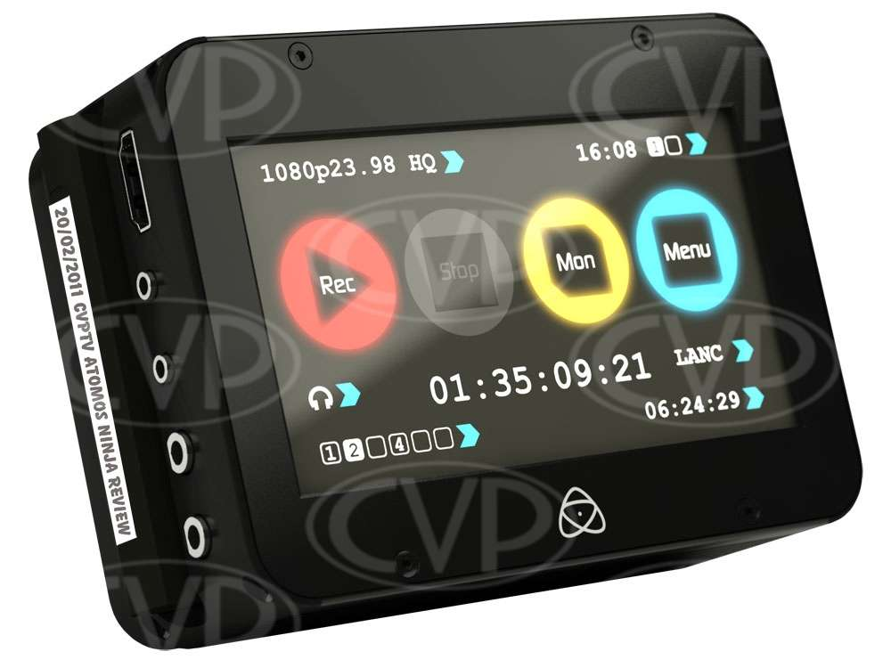 Atomos Ninja HD HDD recorder with Apple ProRes Codec and