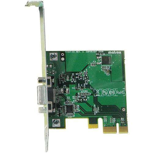 Ex-Demo Matrox PCIe Host card for MXO2 family hardware (PCIE/ADP*)