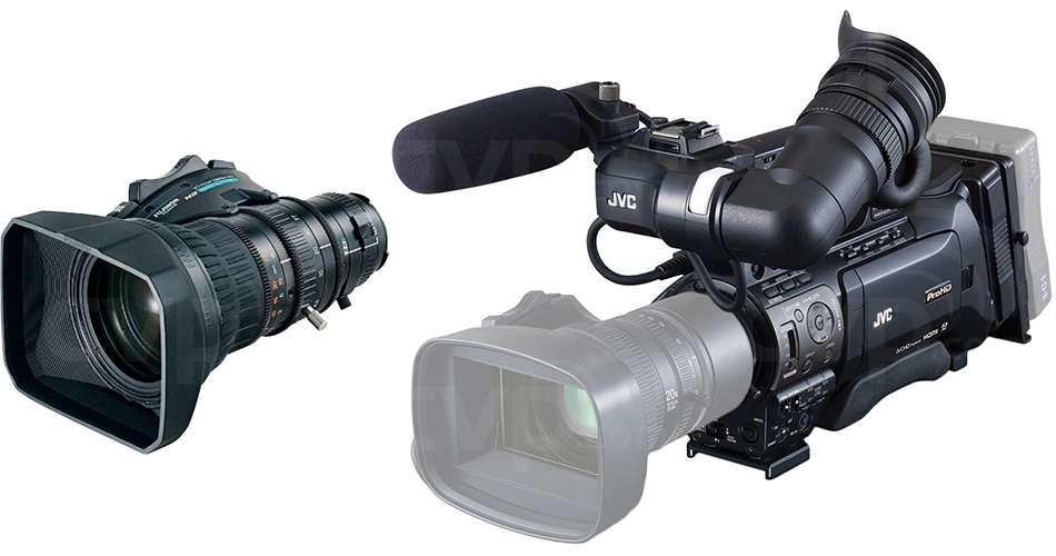 JVC GY-HM850 + XT17 Lens