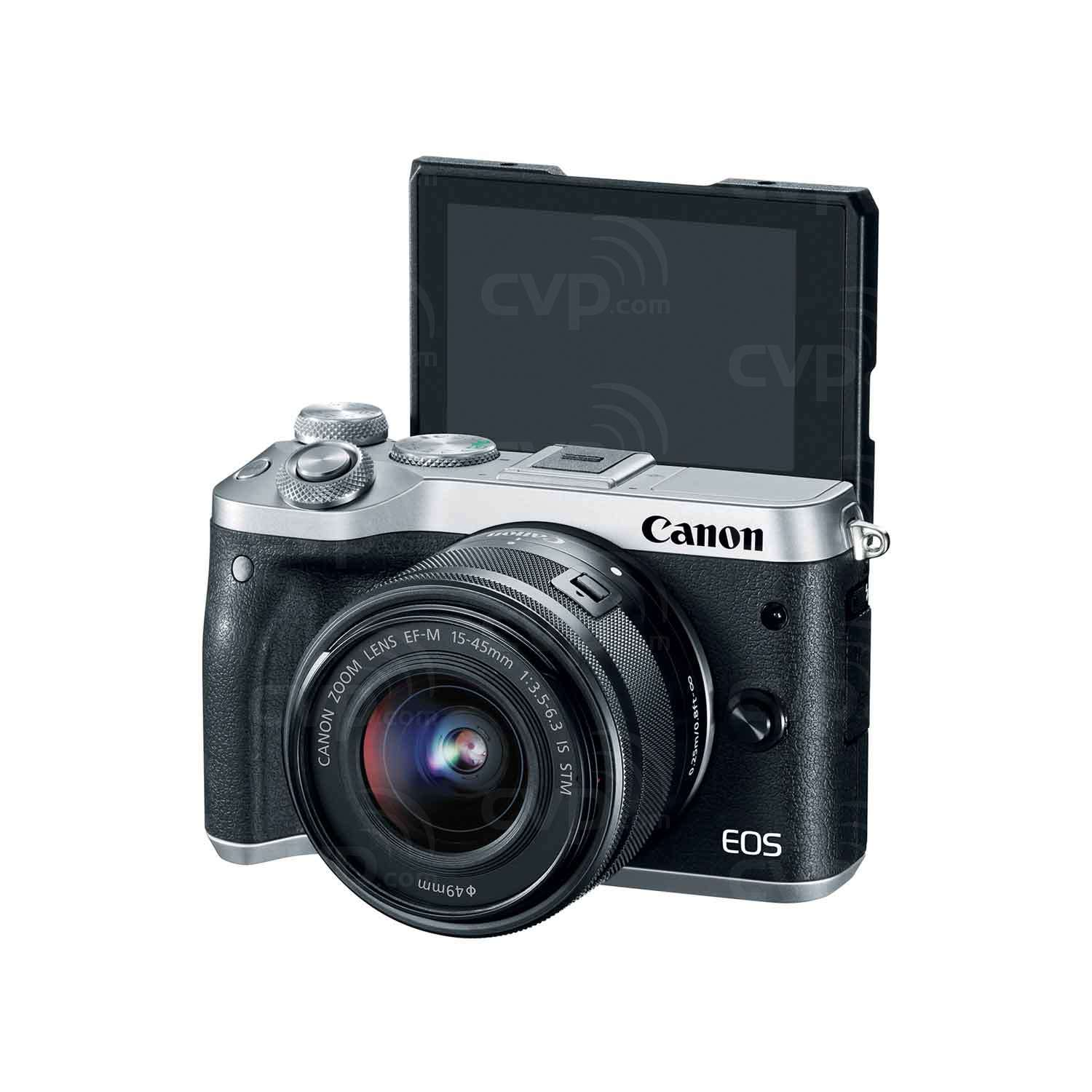Canon EOS M6 with 15-45mm Lens