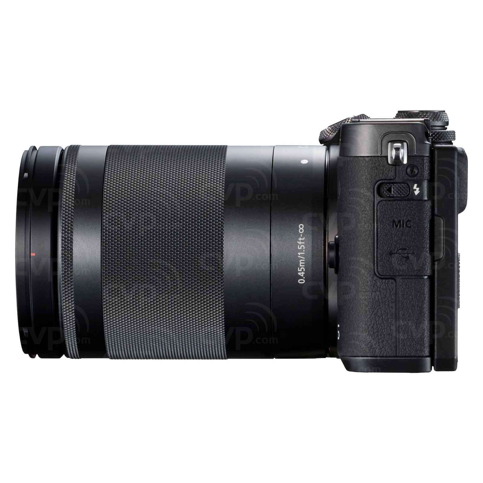 Canon M6 with 18-150mm Lens