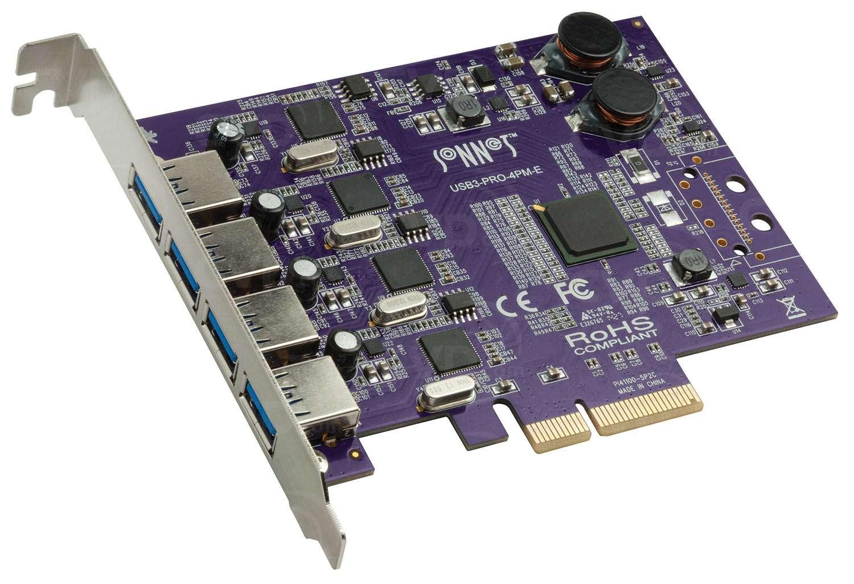 Sonnet SON-USB3PRO-4PME (SONUSB3PRO4PME) Allegro Pro USB 3.0 PCIe Adapter Card