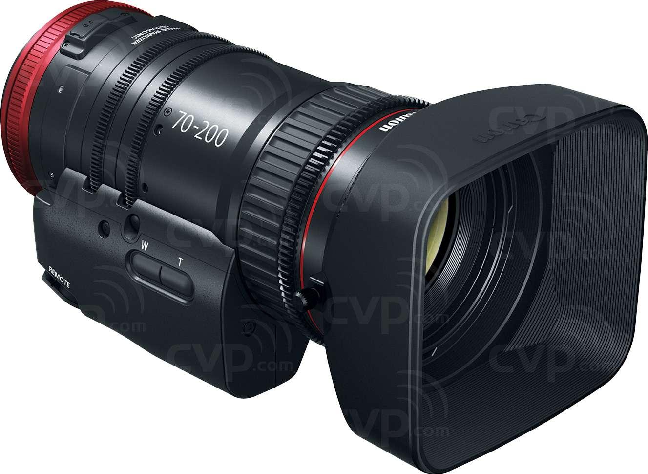 Canon CN-E70-200mm T4.4 - EF