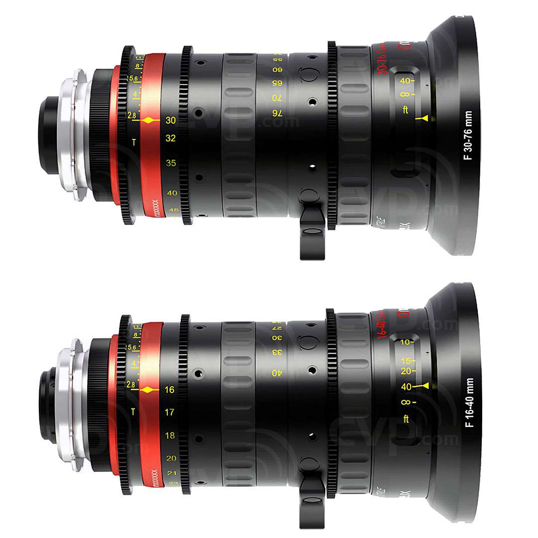 Angenieux Compact Optimo Style Anamorphic Bundle including 16?40mm f/2.6 Lens
