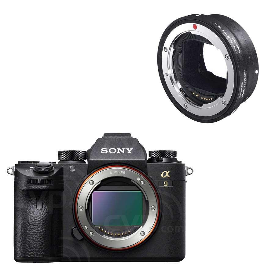 Sony a9 Camera + Free MC-11 Converter