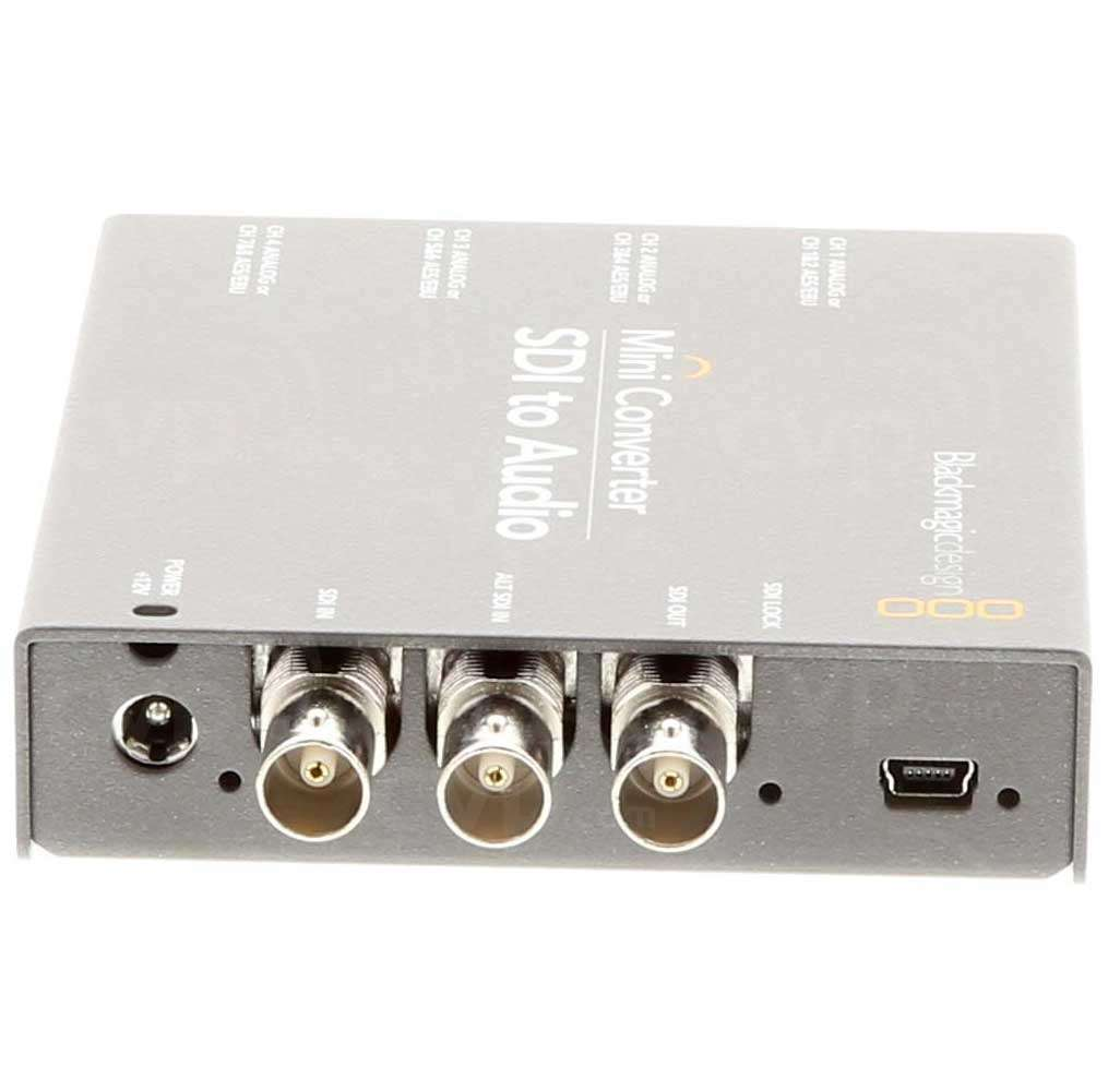 Ex-Demo BMD-CONVMCSAUD SDI to Audio converter
