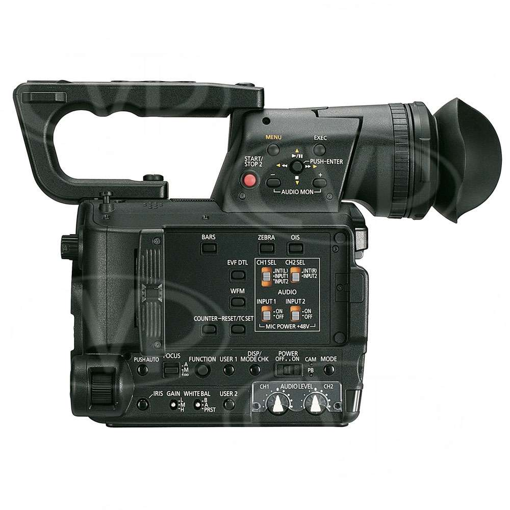 Panasonic AG-AF101A (AGAF101A) Full HD Camcorder with micro four thirds mount, 10-bit SDI + optional 1080 50p recording (body only)