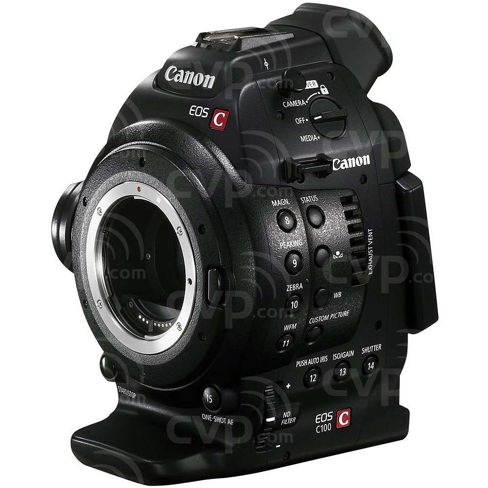 Canon EOS C100 EF (Cinema, EOS, C-100) Super 35mm digital