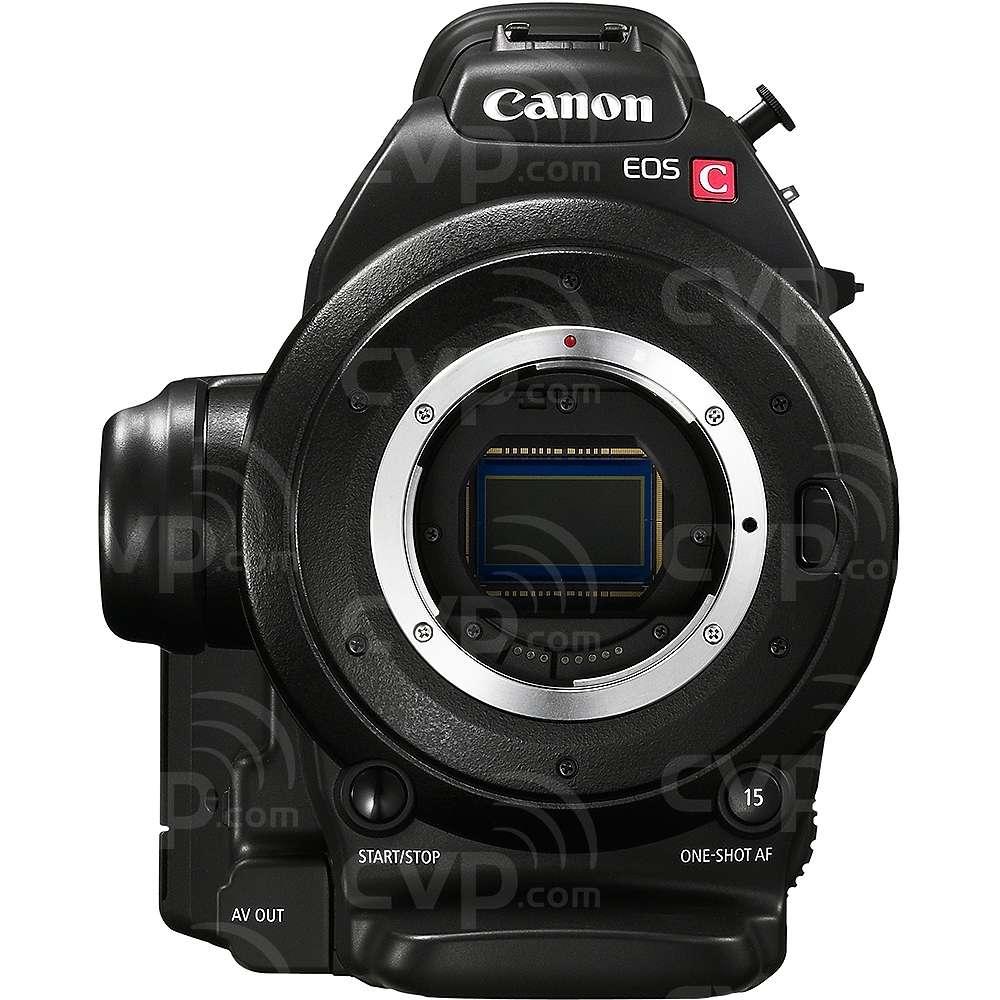 Canon EOS C100 EF (Cinema, EOS, C-100) Super 35mm digital cinematography camcorder with EF lens mount