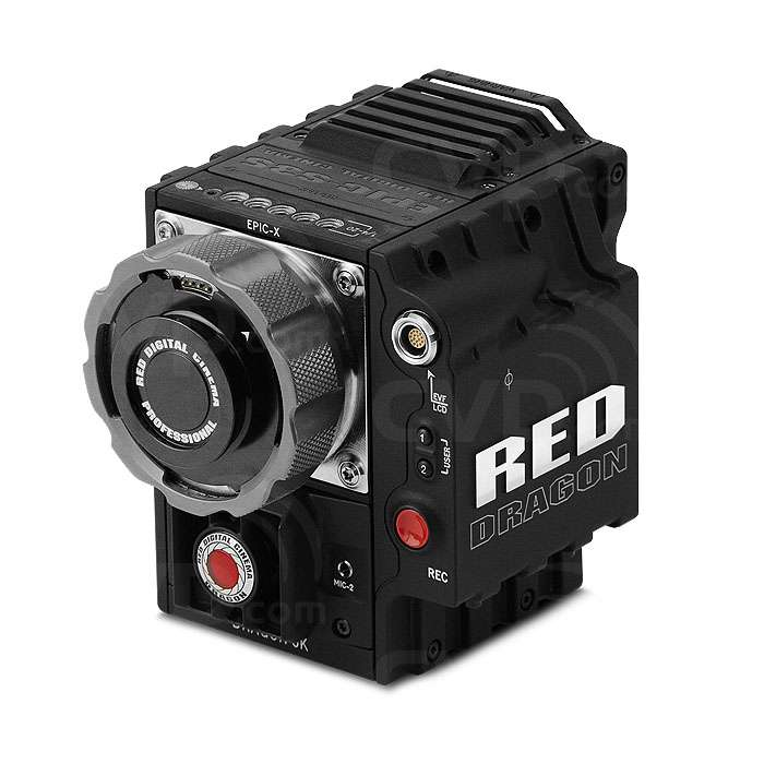 RED EPIC-X DRAGON 6K 19MP Digital Cinematography Camera with MINI-MAG