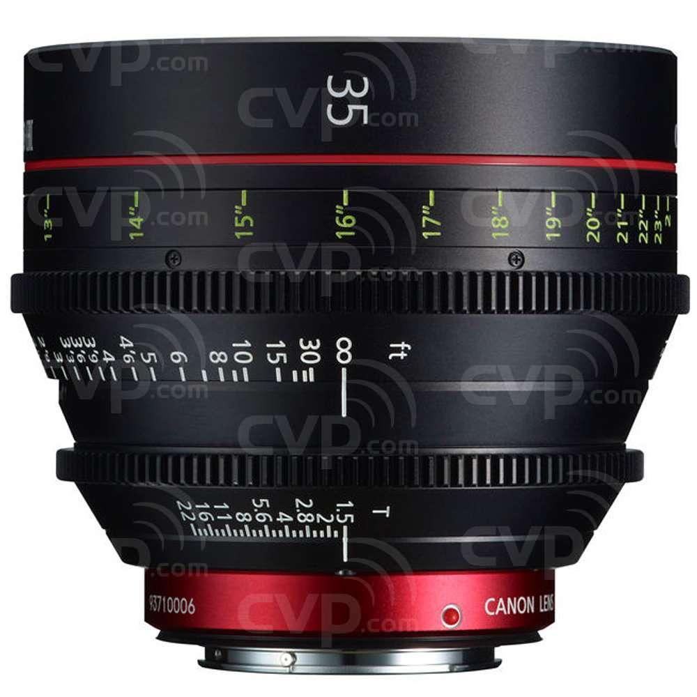 Canon CN-E 6x Prime Lens Set