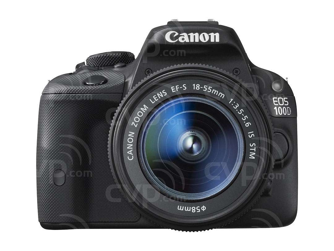 Canon EOS 100D 18.0MP Full HD Movie Digital SLR Camera + EF-S 18-55mm IS STM Lens (Canon p/n 8576B021AB)