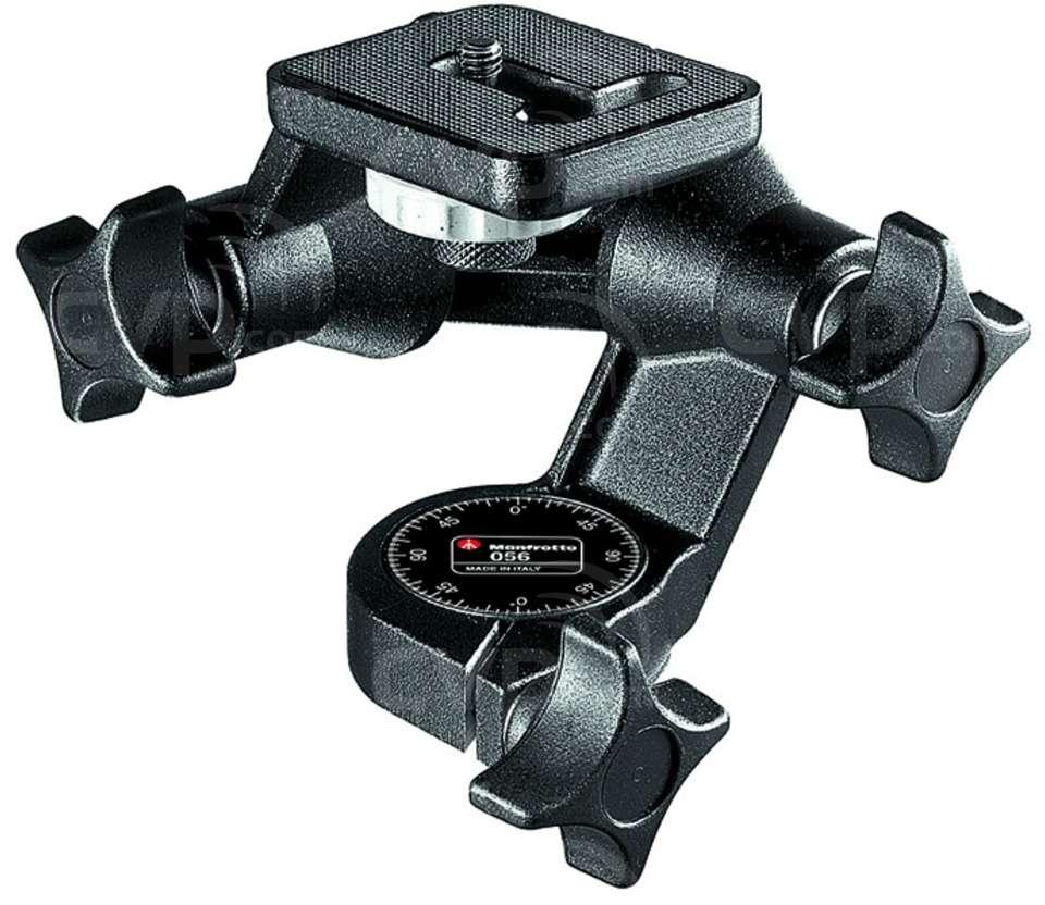 Manfrotto 056 (056) 3D Junior Camera Tripod Head