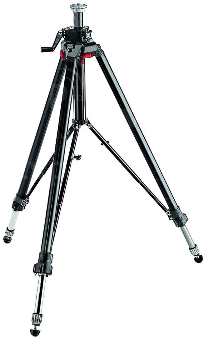 Manfrotto 058B (058-B) Triaut 3 section Camera Tripod, Without Head