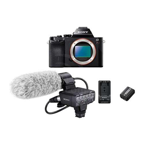 Sony Alpha a7R XLR Kit 2 - 36.4MP Full Frame