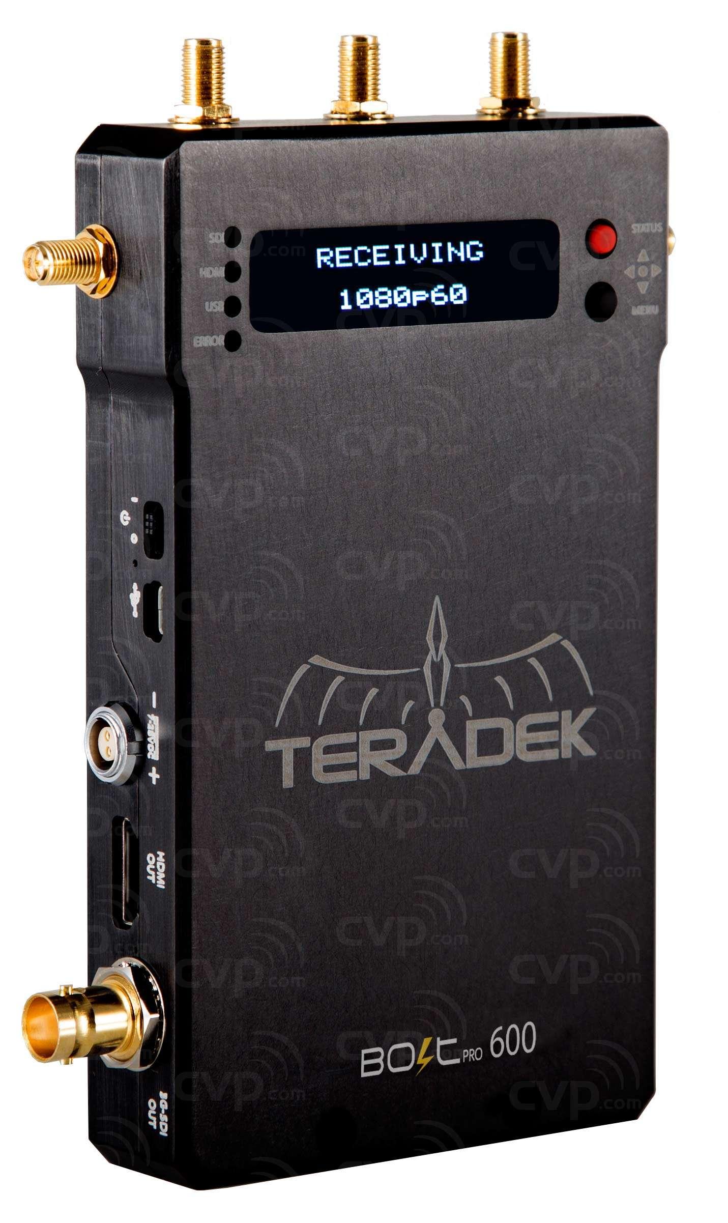 Teradek Bolt Pro 600 - Uncompressed Wireless HD Video Transmitter