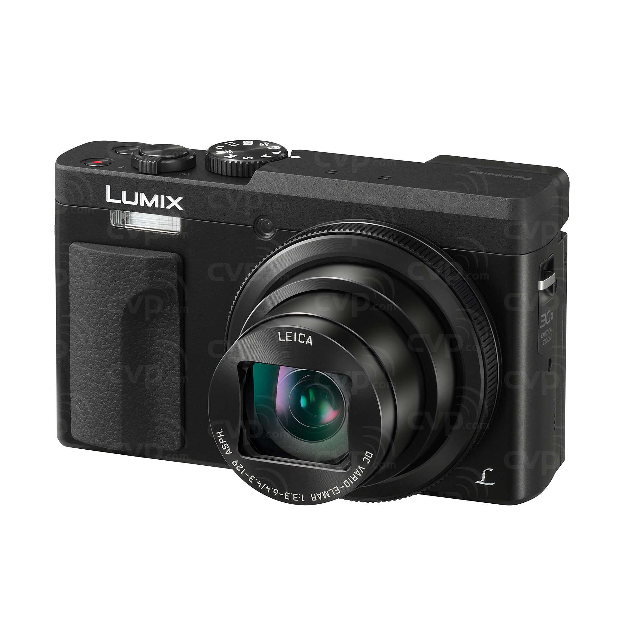 Panasonic Lumix DC-TZ90 20.3 MP 30x Digital Compact Camera with 4K and 180 Degree Tilt LCD - (Black or Silver)