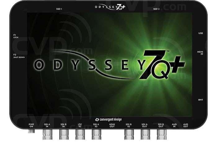 Convergent Design CD-ODYSSEY-7Q+ (CDODYSSEY7Q+) Odyssey7Q+ 7.7 inch OLED Quad Monitor