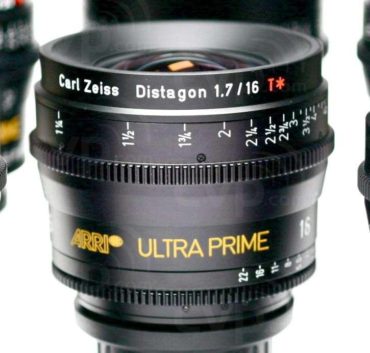Arri Ultra Prime Carl Zeiss Distagon set