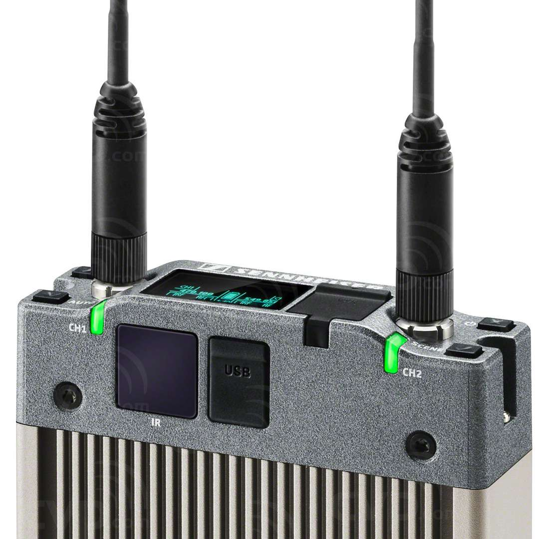 Sennheiser EK 6042 (EK6042) Dual Channel Portable Radiomic Receiver
