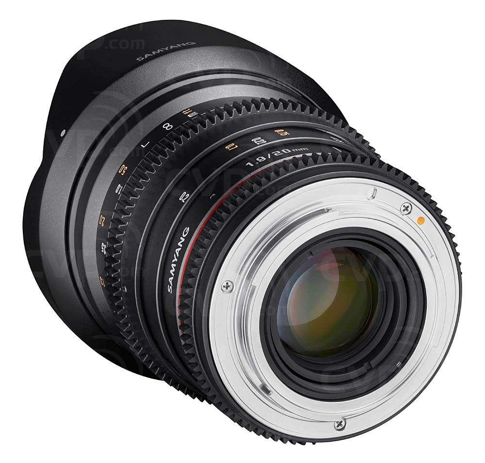 Samyang 20mm T1.9 Canon