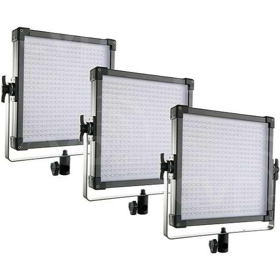 F&V K4000 (10904102) 5600K Daylight LED Studio Panel 3 Light