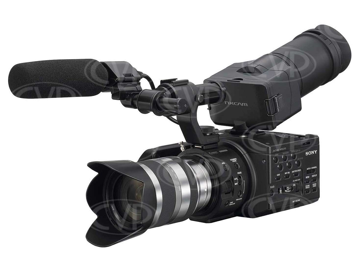 Used Sony NEX-FS100E Super 35mm Exmor CMOS Sensor Camcorder without