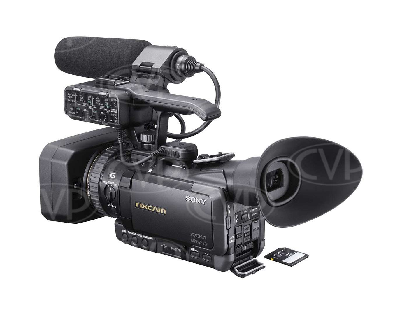 Sony HXR-NX70E (HXRNX70E) compact rain and dust proof Full HD