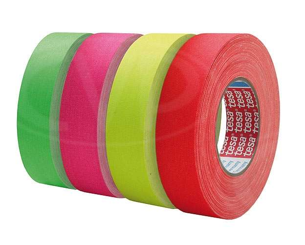 CVP Fabric Backed Self-Adhesive Fluorescent Gaffer Tape