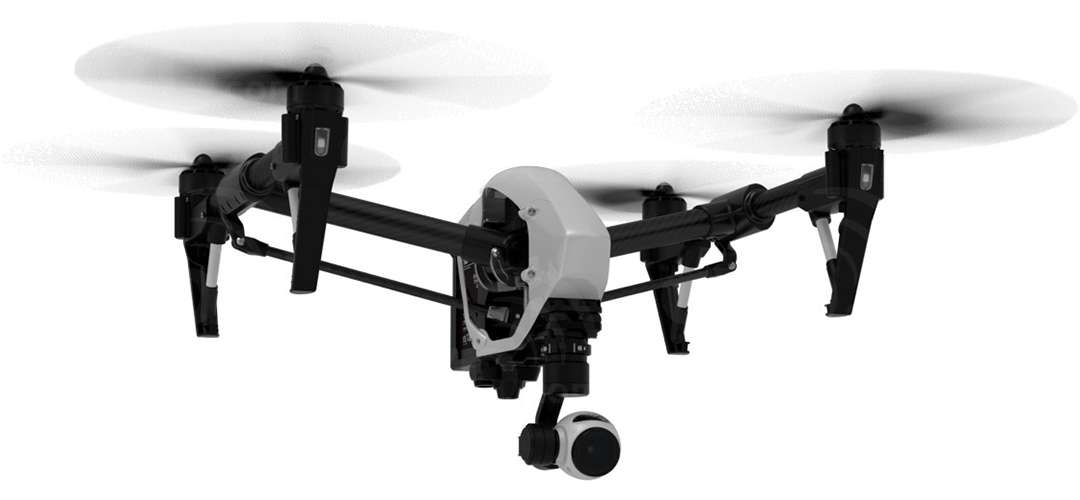 DJI Inspire 1 Quadcopter With Dual Remotes