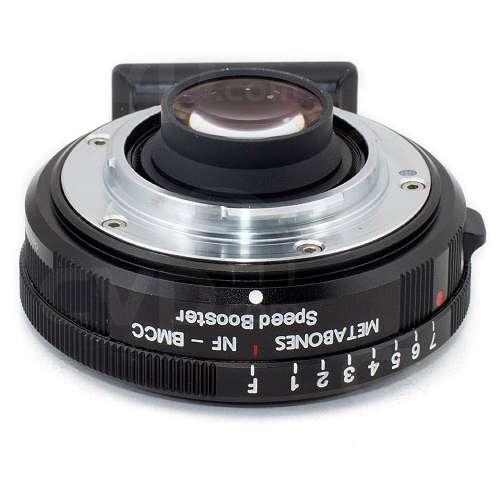 Metabones Nikon G to BMPCC Speed Booster - Adapts Nikon