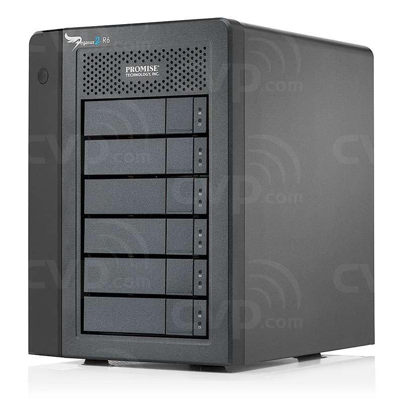 Promise Pegasus 2 6-Bay Thunderbolt2 I/O 12TB or 18TB Desktop