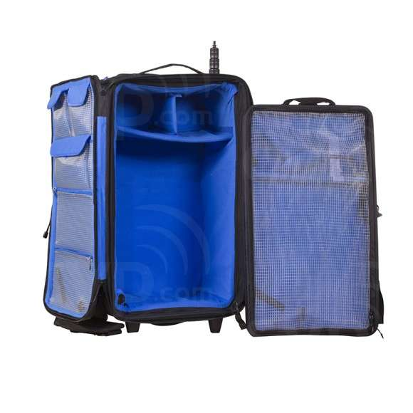Orca OR-48 (OR48) Audio Accessories Bag with Built In Trolley