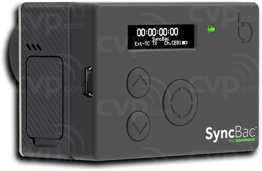 Timecode Systems SyncBac Pro Wireless Embedded Timecode Sync for the